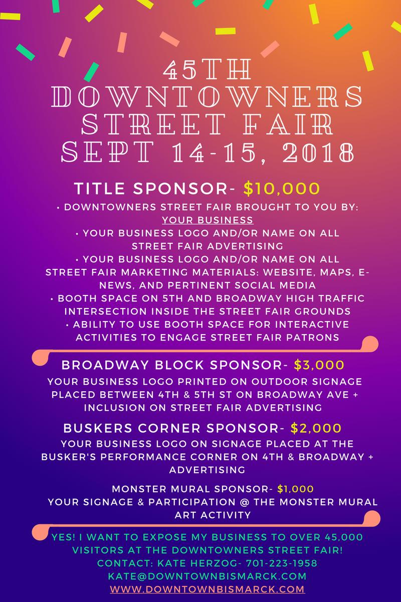 Street Fair Downtown