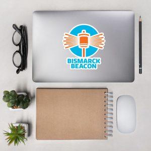 Bismarck Beacon Diecut Stickers