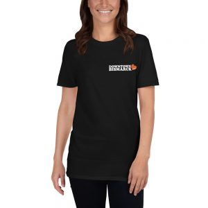Downtown Bismarck Icon Short-Sleeve Softstyle Unisex T-Shirt